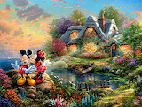 Mickey & Minnie~ ThomasKinkade