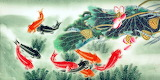 Chinese-fish-painting