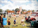 The Village Football Match - Kevin Walsh