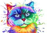 freaky feline