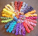 Silk rainbow