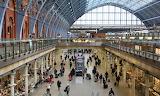 Trains - Eurostar Terminal at St Pancras Station