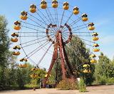 Ferris wheel in Pripyat
