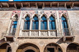 The-facade-of-Palazzo-Righetti-Vicenza-Italy