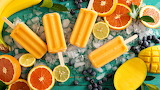 #Mango Citrus Popsicles