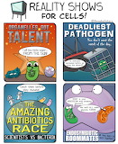 "Science tumblr amoebasisters ""Reality Shows for Cells"""