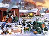 Wintertime Farm~ KevinWalsh