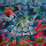 Abundance of Fruit of the Sea by Maximo Laura