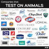 Pay attention,these companies tests  on animals.