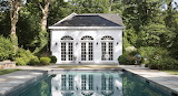 Colonial Pool House