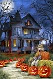 Autumn Halloween House