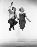 Yvonne Halsman, Marilyn Monroe et Philippe Halsman, 1959.