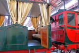 Museum-of-Pietrarsa-Napoli-first train carriages in Italy