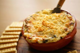 ^ Hot and Spicy Crab Dip