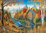 Mill in Autumn~ MarkDaehlin