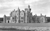 Balfour Castle in Shapinsay from 1953