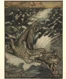 """Fairytales Dragon Art """"Arthur Rackham"""""""