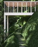 Art Deco garden