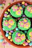 #Flower Garden Cupcakes