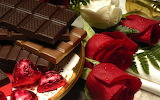 Roses-drops-chocolate-tiles-candies-1072399-wallhere.com