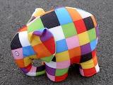 #Checked Elephant