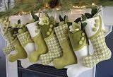 green stockings
