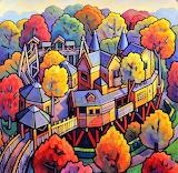 Alnwick tree house, Jim Edwards