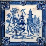 Ceramic tile by Minton Hollins