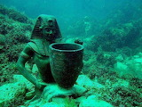Egypt. Cleopatra's underwater Palace.