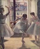 "Art tumblr campsis ""Edgar Degas"" ""Three Dancers in an Excercise"