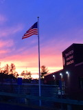 Acton Senior Center sunset