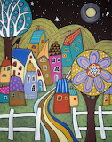 Moonlight Village - Karla Gerard