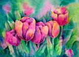 ^ Spring tulips ~ Martha Kisling