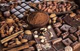 Sweets-chocolate-chocolates-nuts-cocoa