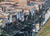 Brazilië Sao-Paulo Alphaville Favela-van-Sao-Paulo-Stad
