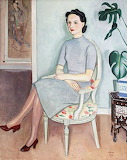 Einar Jolin, Woman with red shoes, 1940