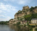 Beynac Chateau by the Dordogne River France
