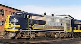 Train Locomotive Santa Fe 335