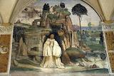 Abbazia MonteOliveto Magg.re Siena affresco Sodoma 05 campanella