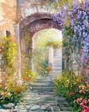 Spring Walkway ~ Antonietta Varallo