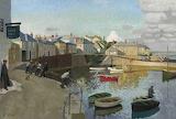 Harold C Harvey,  Mousehole harbour, 1922
