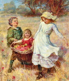 The Heavy Load~ Frederick Morgan detail
