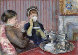 Mary Cassatt, Le thé, ca. 1880