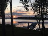 Sunset on Lake Hood