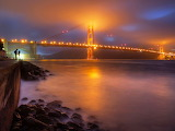 Golden Gate Bridge at Night...
