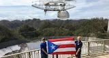 Arecibo big dish radio telescope