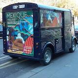 Camionnette à Paris