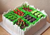 ^ Garden cake