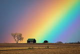 Places - Rainbow after the storm - North Dakota