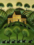 Country House of Scottie Dogs, Cheryl Bartely